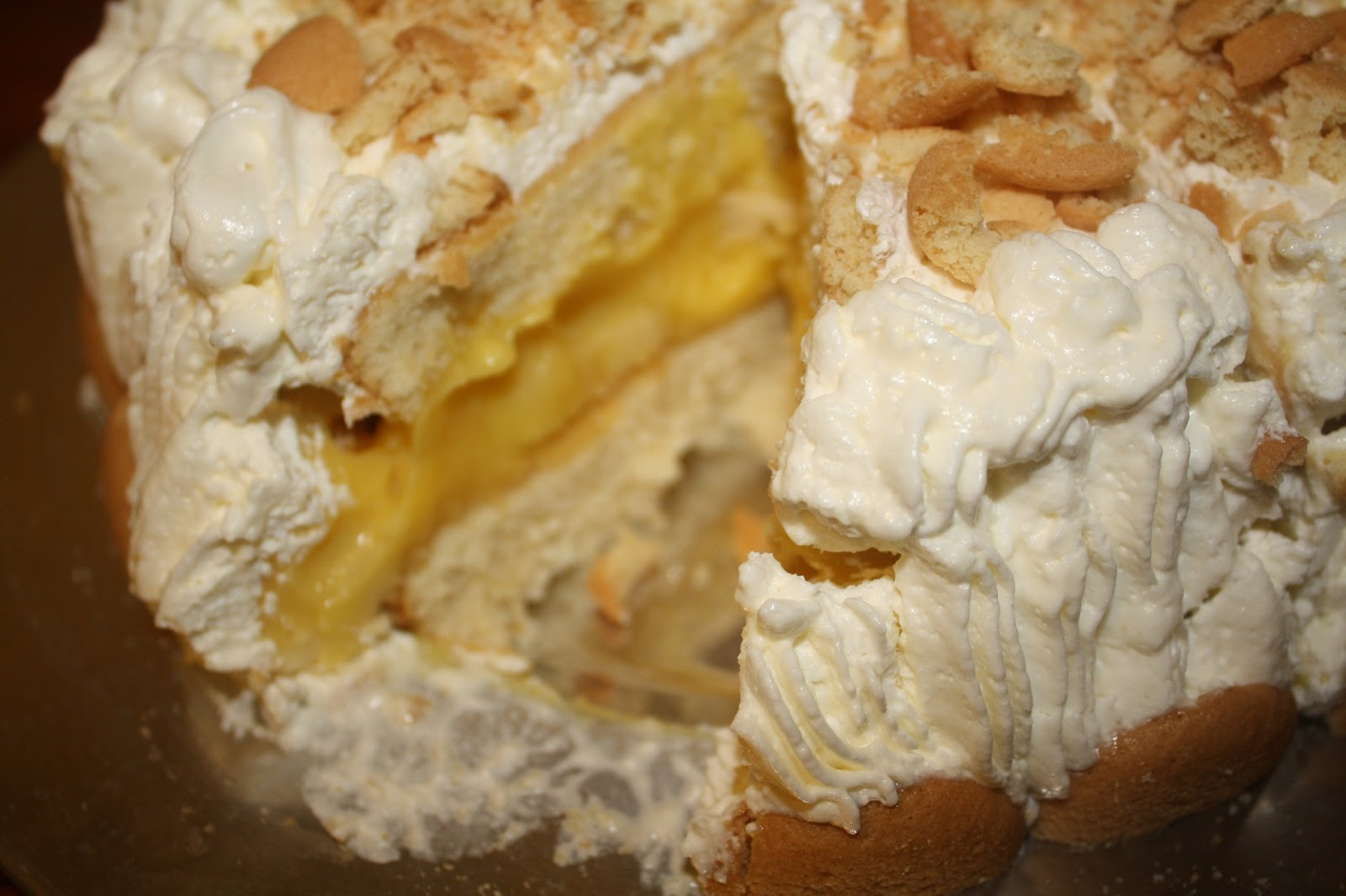 Banana Pudding Layer Cake Emeril