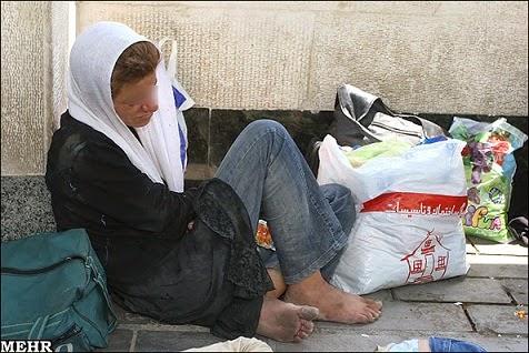 صلح ، عدالت ، آزادی مدنی : زن ایرانی ، حقش در کارتن خوابی ...