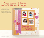 Dream Pop Paper for Nt'l Scrapbooking Month