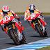 MotoGP: Décimo doble podio de Marc Márquez y Dani Pedrosa