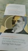 Fenomenologia americana e fenomenologia italiana: a partire da Husserl