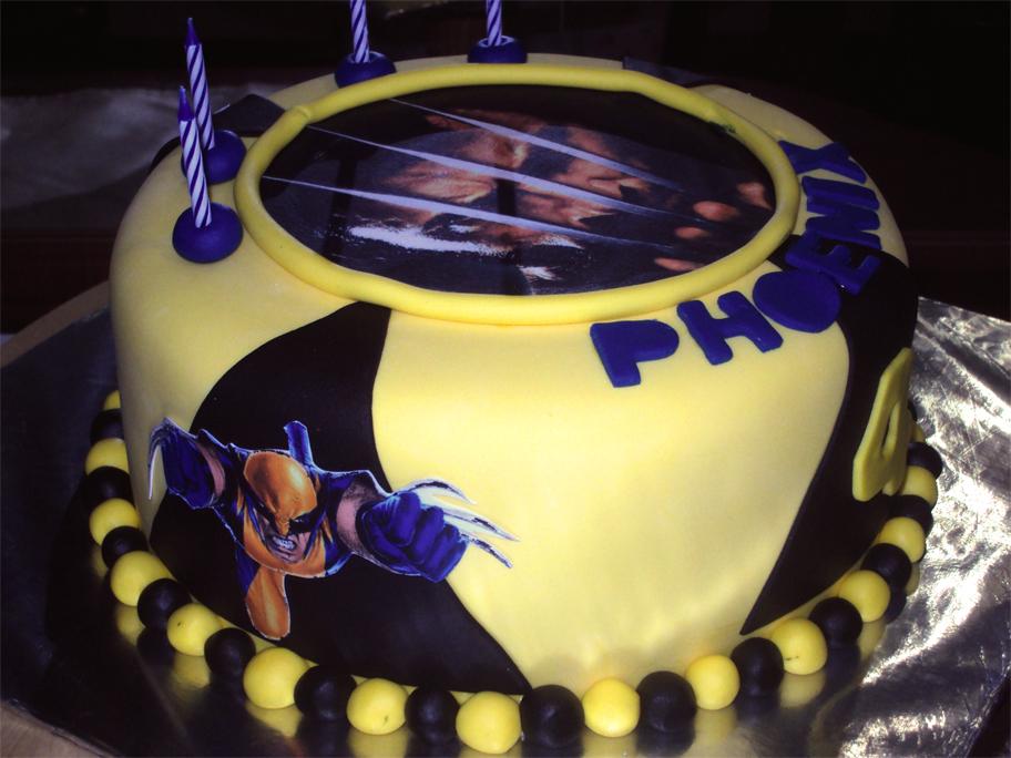 Delana S Cakes Wolverine Cake