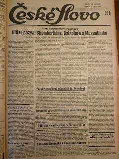 Jak vypadaly noviny před válkou?