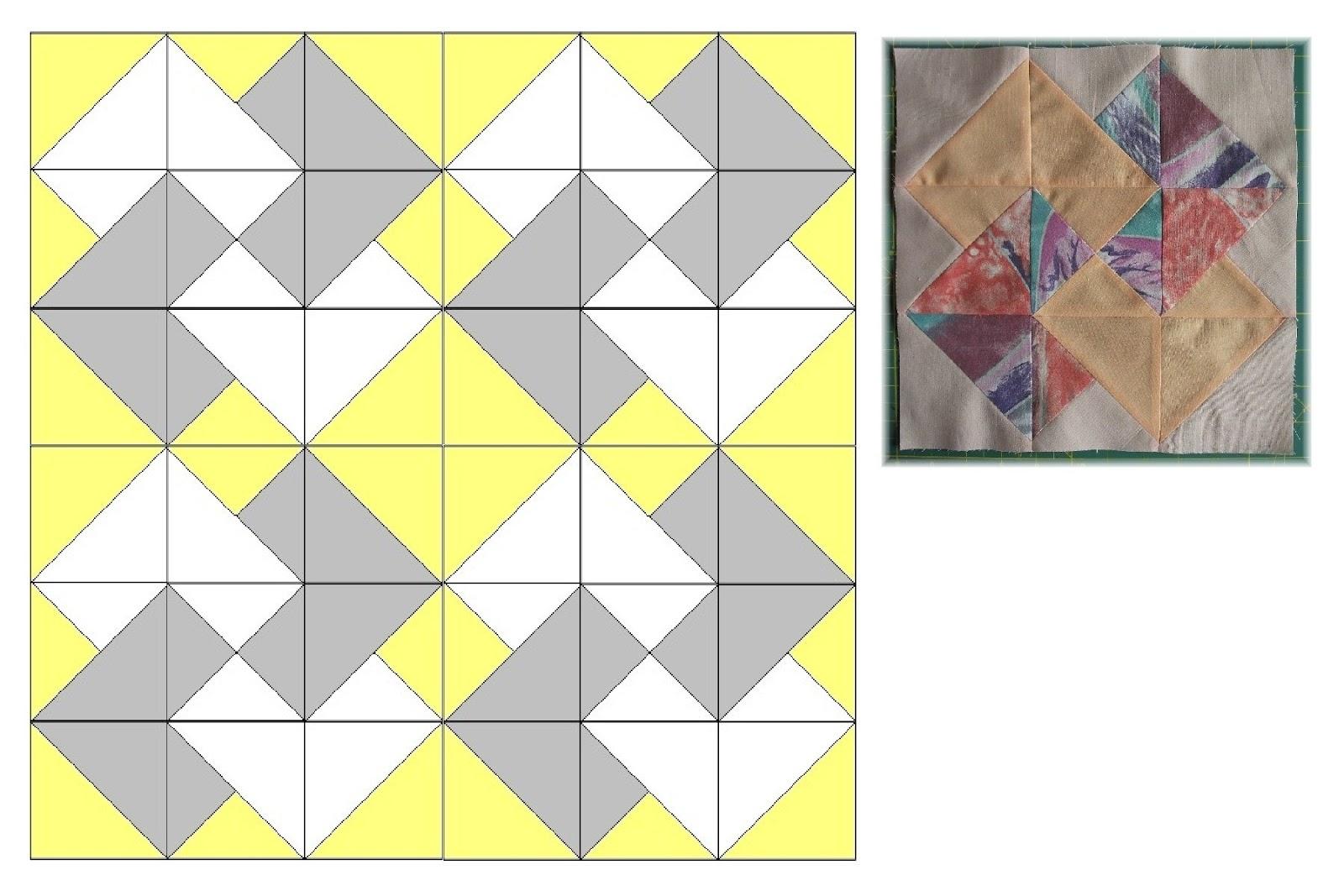 Mein Hobby - Nadelzauber: 9ner Block Muster X