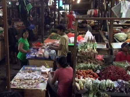 Statistik Lokasi Pasar di Mataram, Lombok, NTB