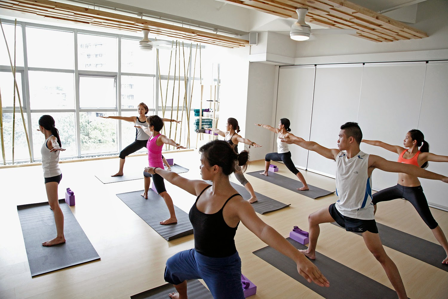 Minimalist Classroom Yoga ~ White space wellness discover the transformative power of