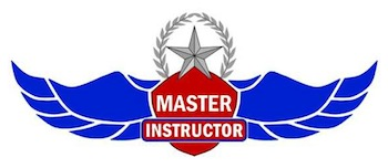 Parvez Dara, MD is also Certified as a 6-Time Master Flight Instructor