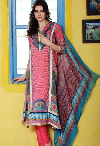 Firdous Chiffon Collections 2015