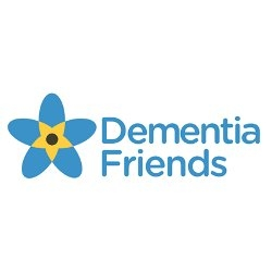 logo for dementia friend