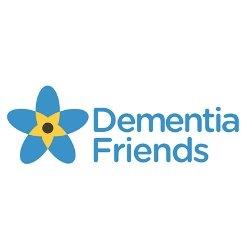 logo for dementia friend