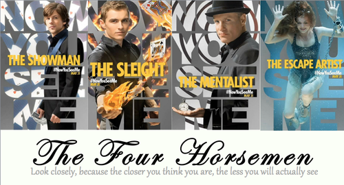 MelloYello: Now You See Me... Now You See Me The Four Horsemen Cards