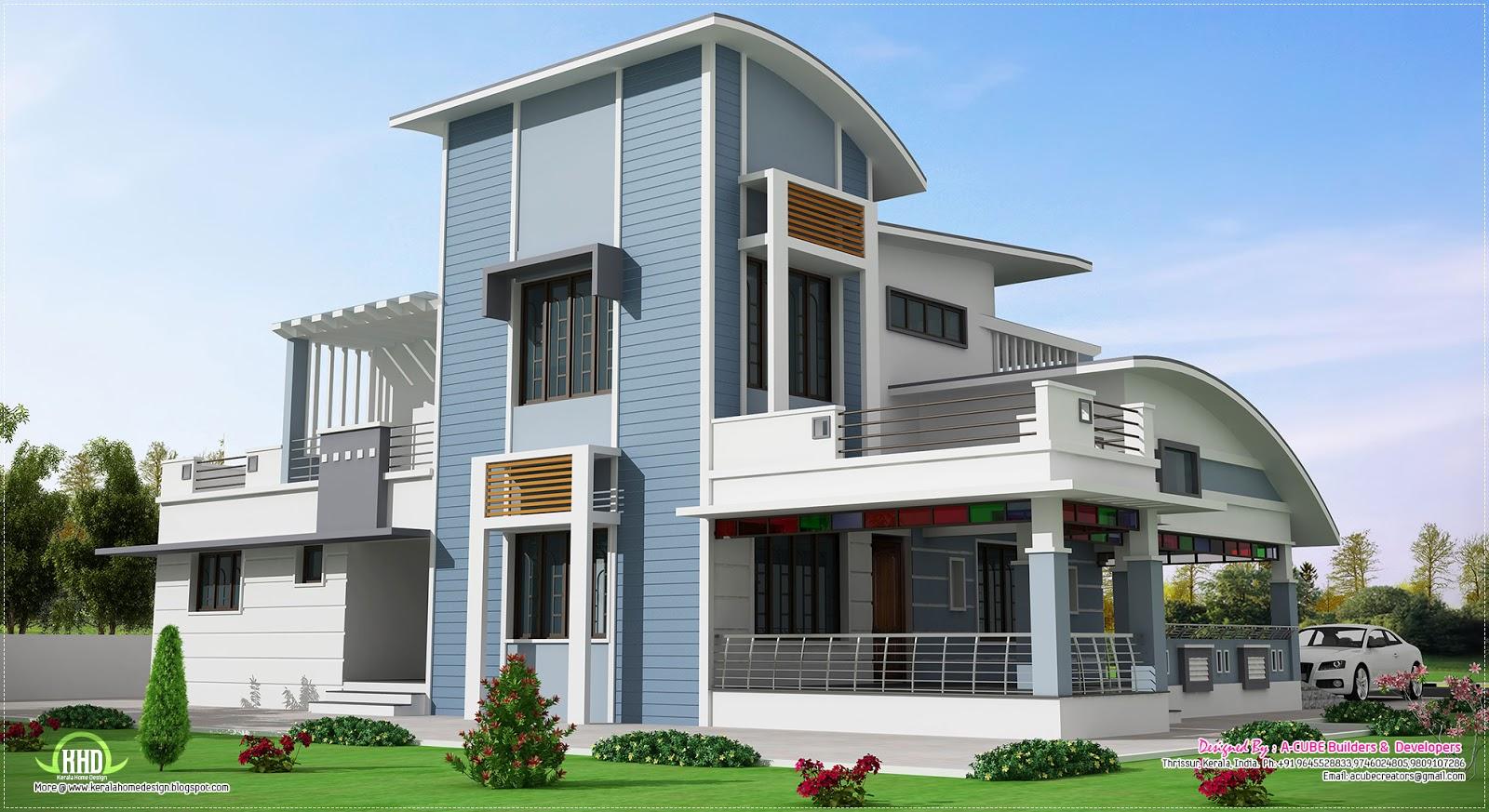 Modern Unique Style Villa Design House Design Plans