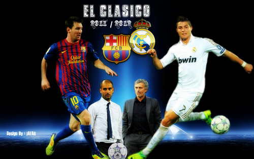 Cristiano Ronaldo Vs Messi 2011   2012 Wallpaper