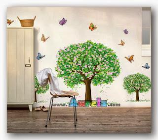 tree butterfly 3d hl 2190