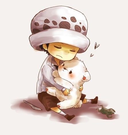 Trafalgar Law and Bepo Chibi | Your daily Anime Wallpaper ...