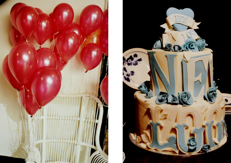 baloon tart torte dessert stuhl rosen newlook