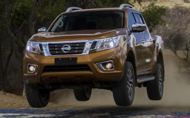 Nova Nissan Frontier 2016