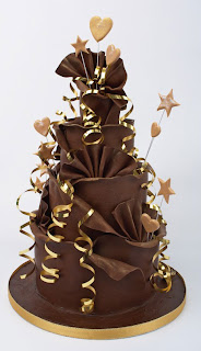 Chocolate Wedding Cakes1