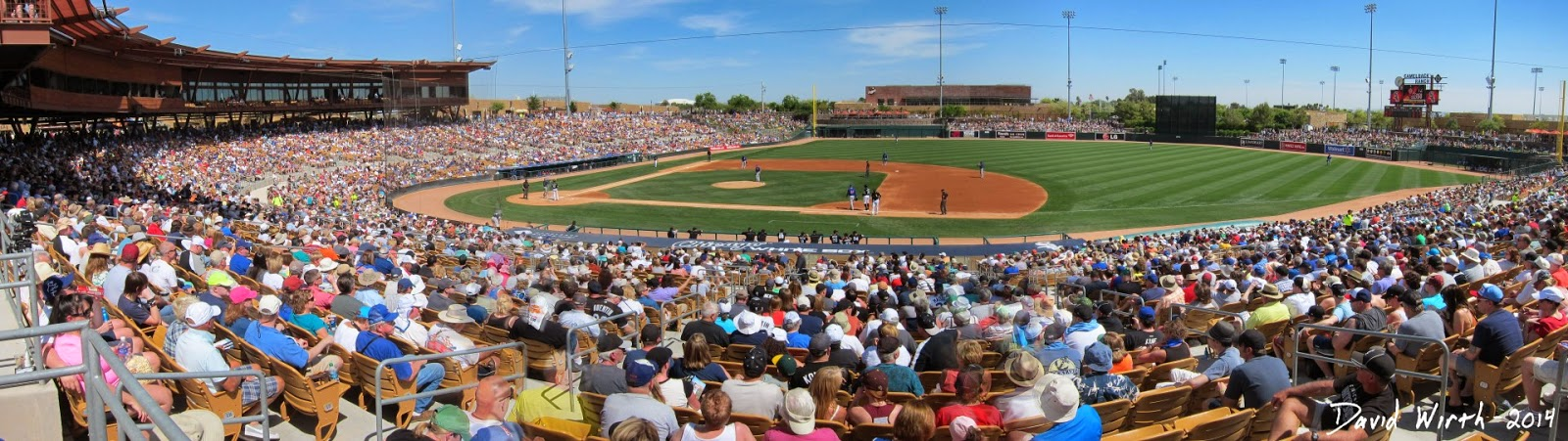 camelback ranch stadium, scottsdale arizona