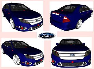 GTA SA - Ford Fusion Sport 2010