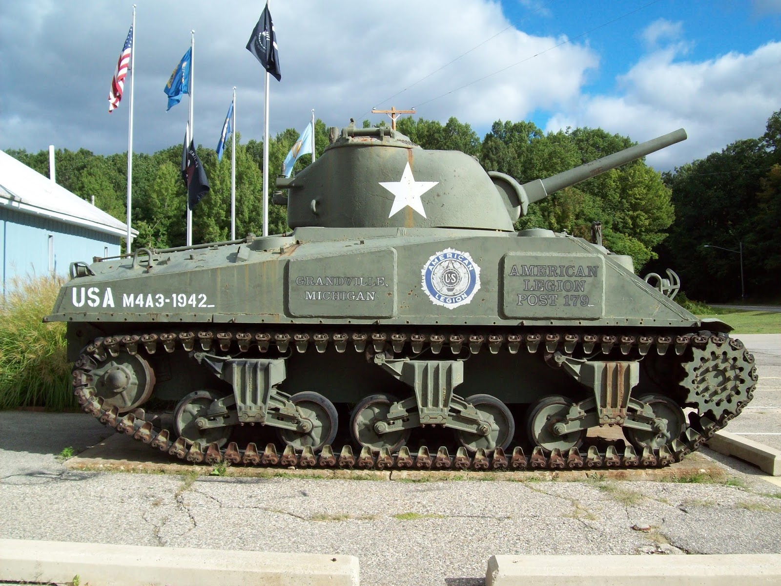 m4a3 in grandville mi the tank and afv blog
