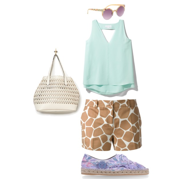 how to style giraffe print-fashion-spring-espadrille-michael kors-free people-sunglasses-shoes-clothes-prints-sassy-weekend-outfit-ootd-demi styles-fashionado