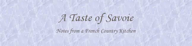 a taste of savoie