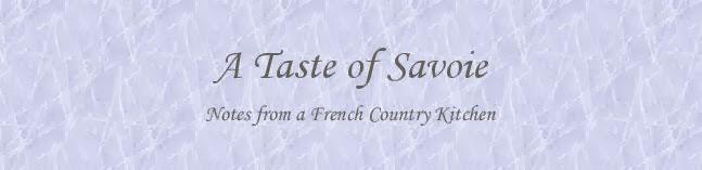 a taste of savoie