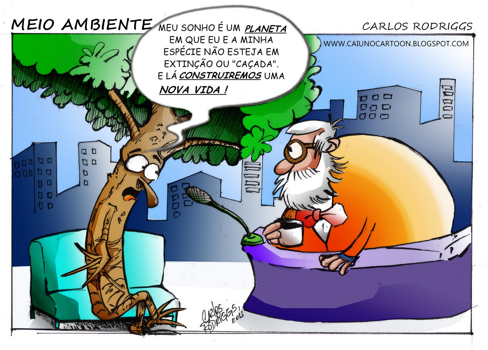 Caiu No Cartoon Meio Ambiente 2
