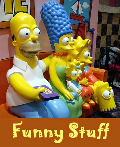 Round Robin Photo Challenge - Funny Stuff (The Simpsons)