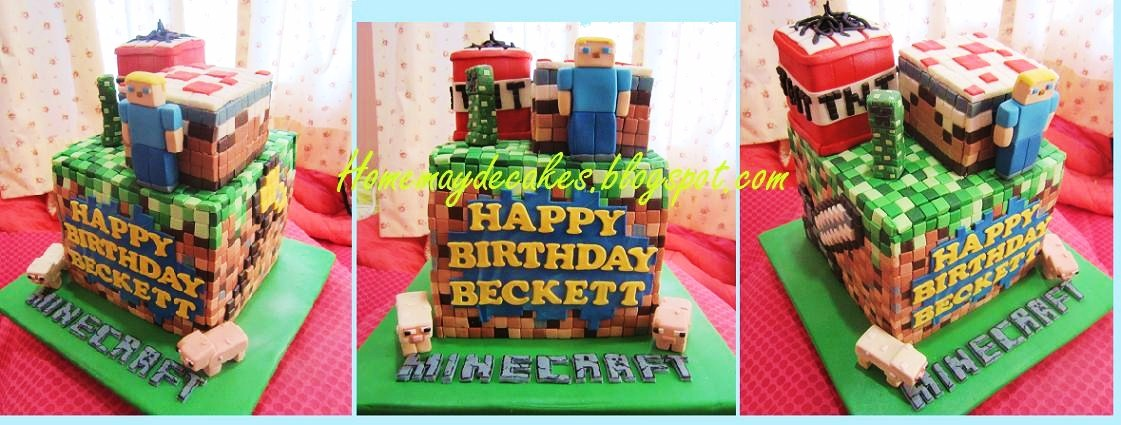 Where Can I Order Minecraft Cake