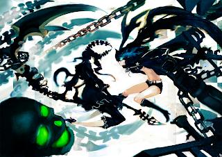 Dead Master Black Rock Shooter Chain Skull Death Scythe Anime Girl HD Wallapper Desktop PC Background 1721