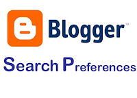 Blogger Search Preference for your Blogger blog