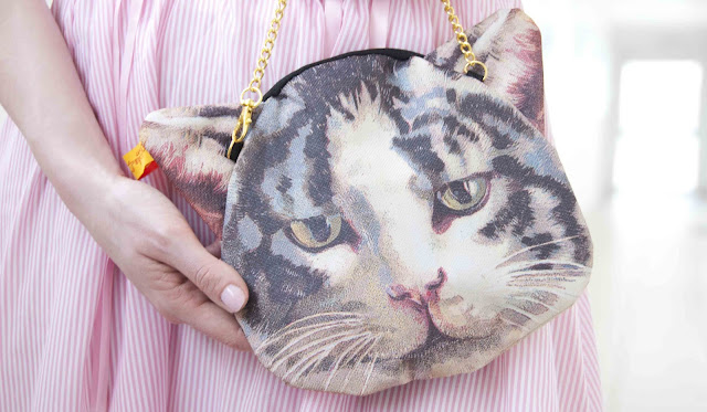 ahcahcum, cat bag, japanese, fashion