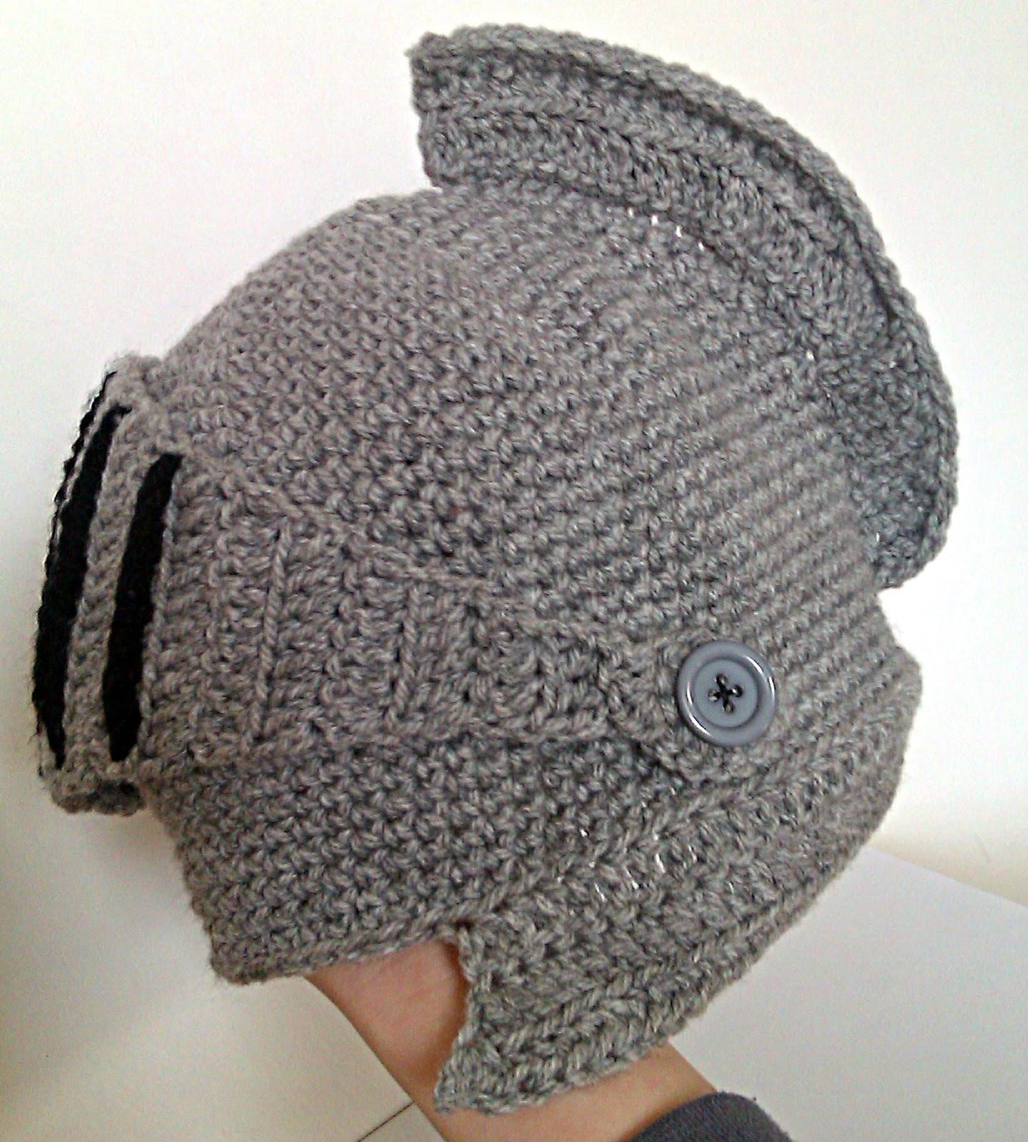 DIY : Gorro Armadura Crochet ...