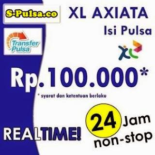 Produk Pulsa XL Transer S-Pulsa PPOB Blora Web Pusat www.S-Pulsa.co