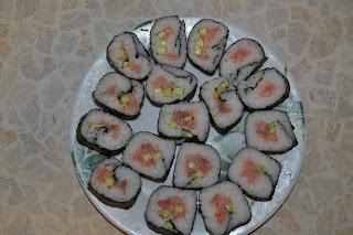 самые простые суши, фото готовых суши