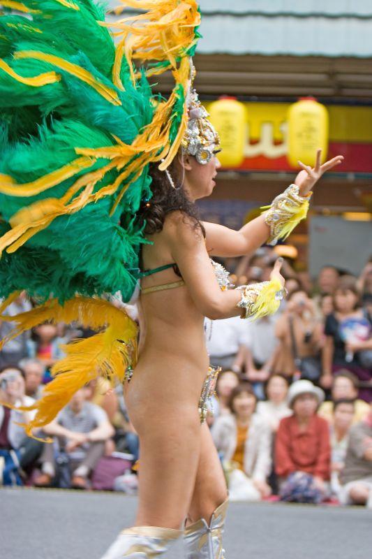 Asakusa, Tokyo Japan, Asakusa Samba Carnival 2006