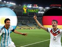 Hasil Prediksi Jerman VS Argentina Final Piala Dunia 2014