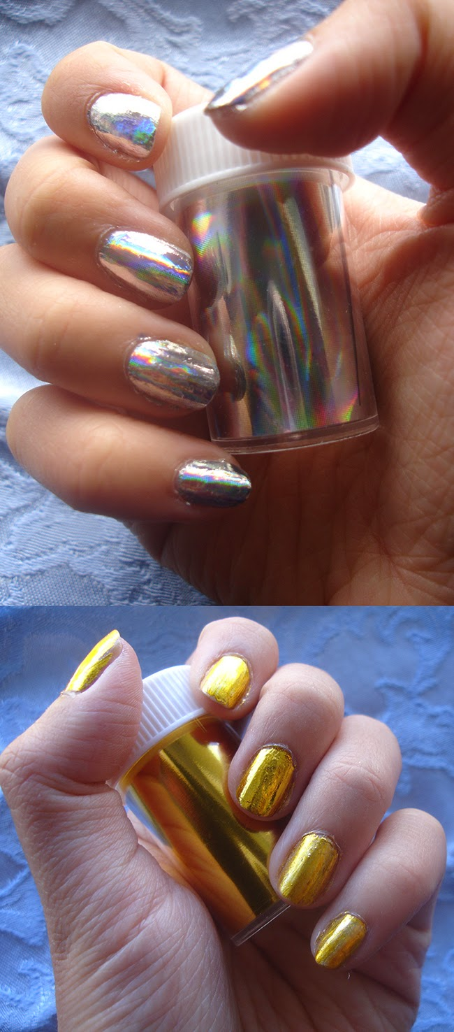 Madolline: Nail Foil Tutorial