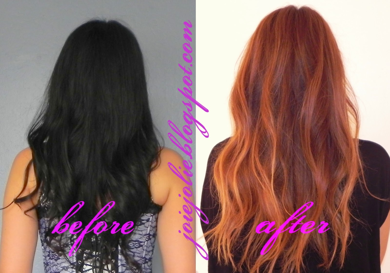 Joie Jolie Diy Black Asian Hair To Light Brown With Balayage And Ombre