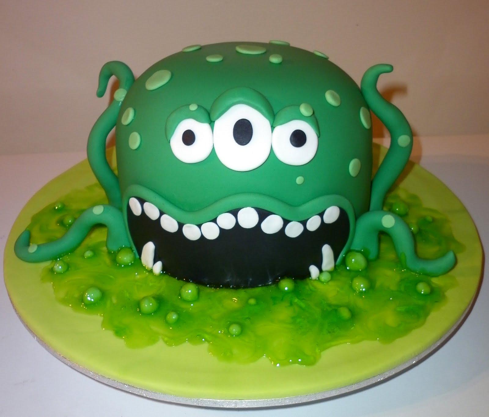 Zombie Head Cake Tutorial