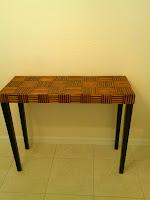 Custom Bamboo Table