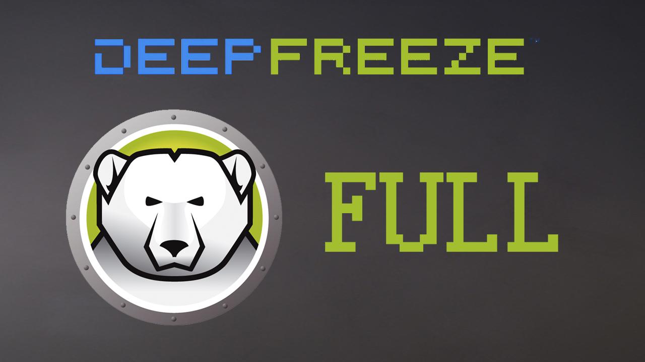 descargar deep freeze full para windows 7 con serial