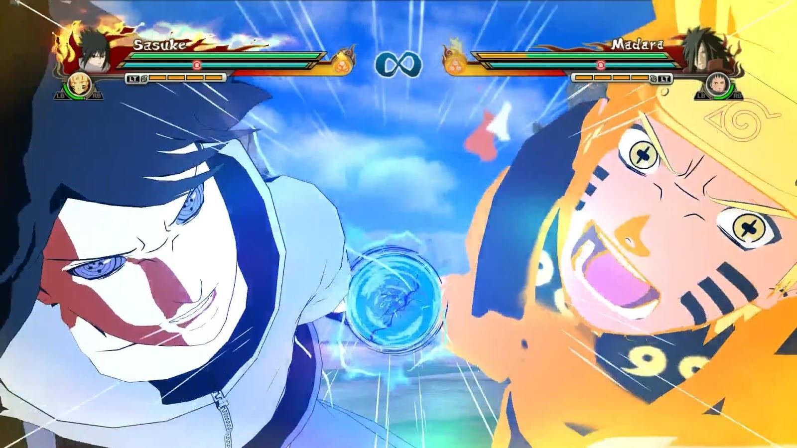 PACK MOD : Naruto & Sasuke : ASHURA & INDRA MODE ( SASUKE