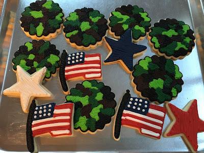 Veteran's Day Cookies