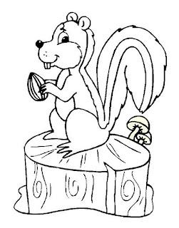 Riscos para pintura de Esquilinhos