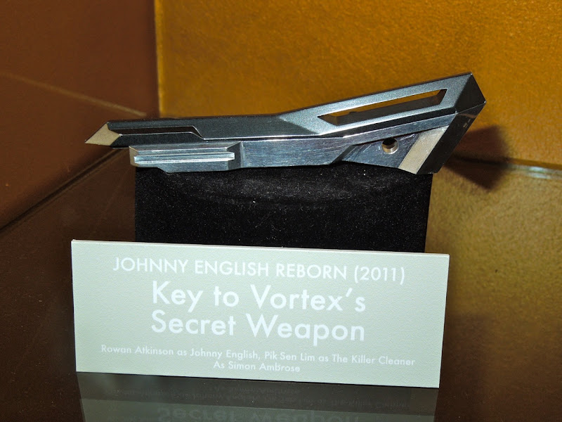 Johnny English Reborn key prop