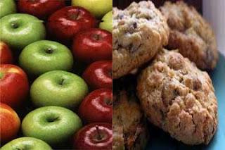 أيهما أسرع فى انقاص الوزن التفاح أم الشوفان ؟؟