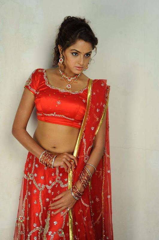 Actress Asmitha Soodh Hot Blouse Stills navel show